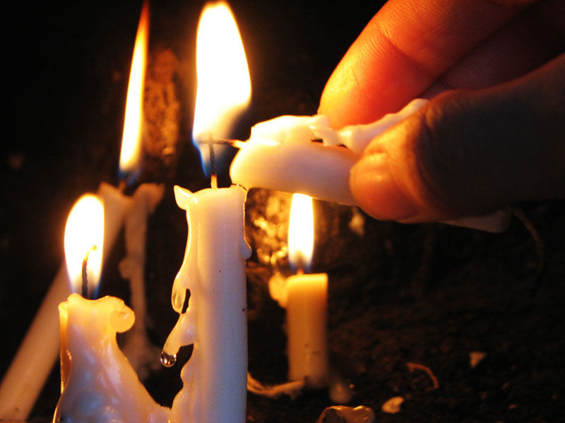 light Candle