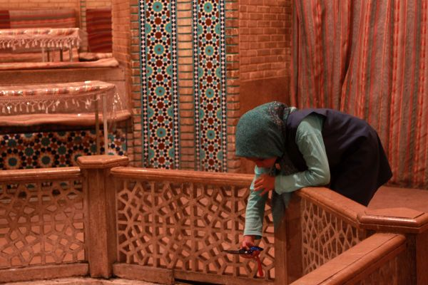 Saadi's mausoleum - Traditional restaurant