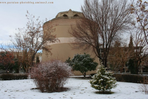 The Same Pigeon tower in Mardavij, Isfahan!