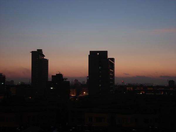 上海的都市黎明