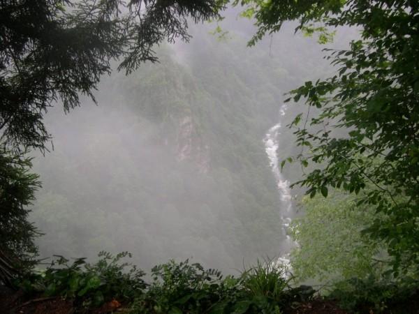 Waterfall near Zill Castel, Ayder, Turkey