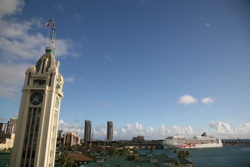 Aloha Tower, Honolulu, O'Ahu, Hawaii