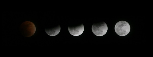 Lunar Eclipse from Baker City