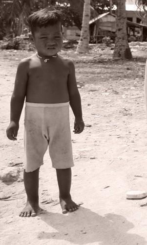 Kiribati Boy