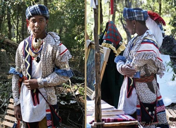 Black Seminole Warrier