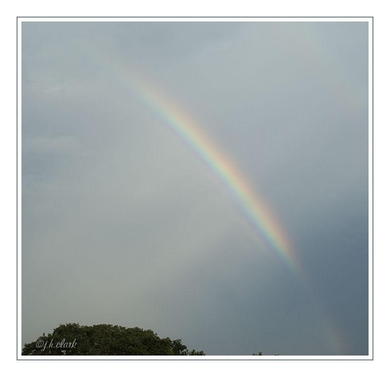 rainbow sky sunlight