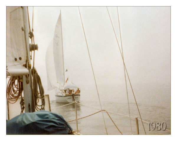 Foggy sail...