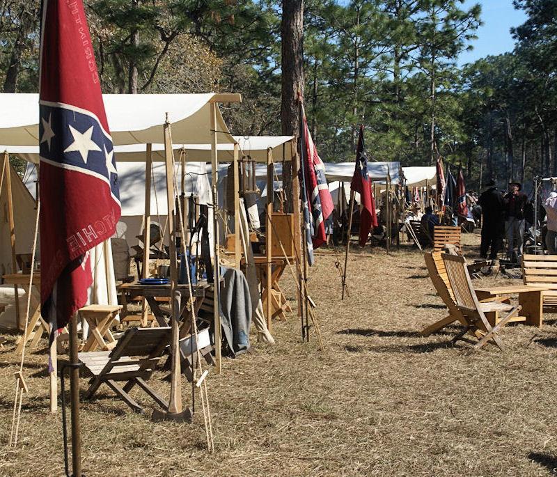 So many tent poles...
