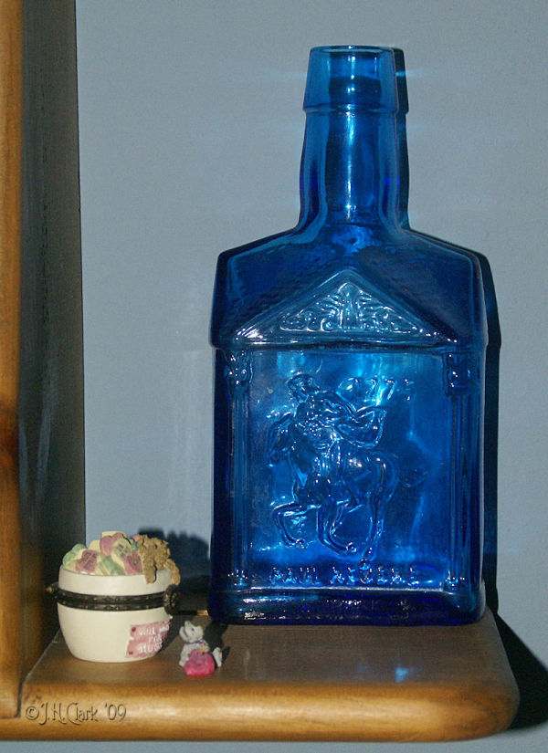 My own blue...