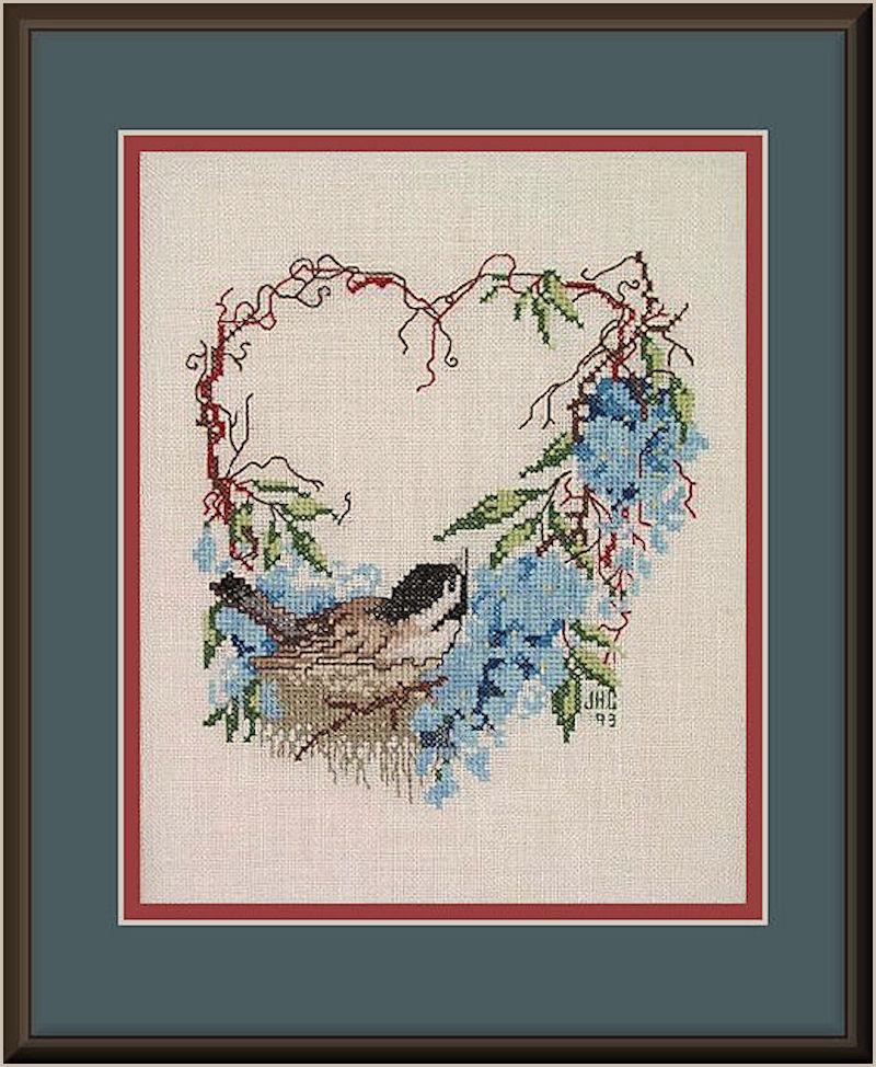 Bird & Twig Heart