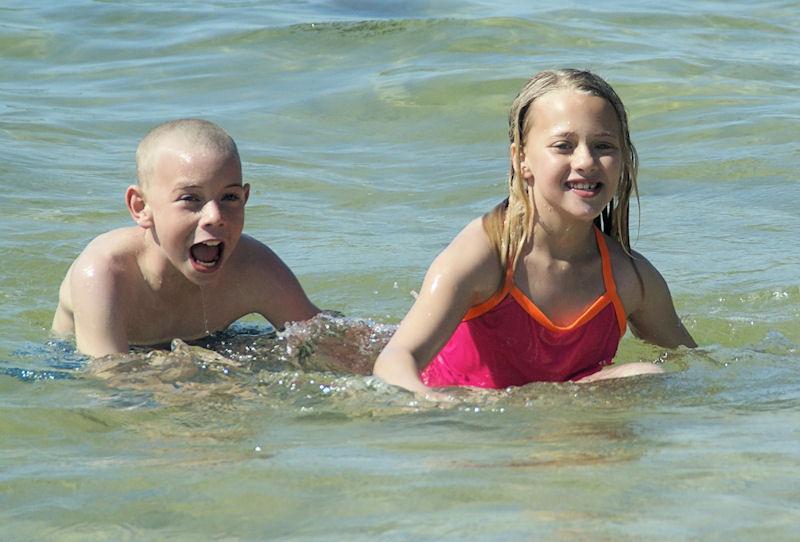 Cousins having fun...