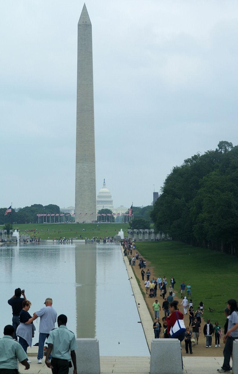 Washington Monument Reflected