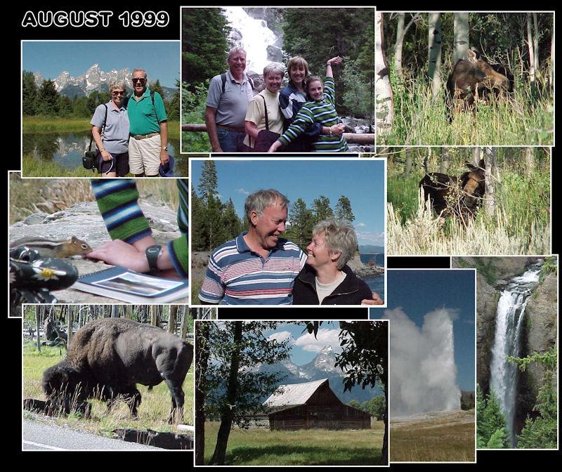 1999 in Grand Tetons & Yellowsone