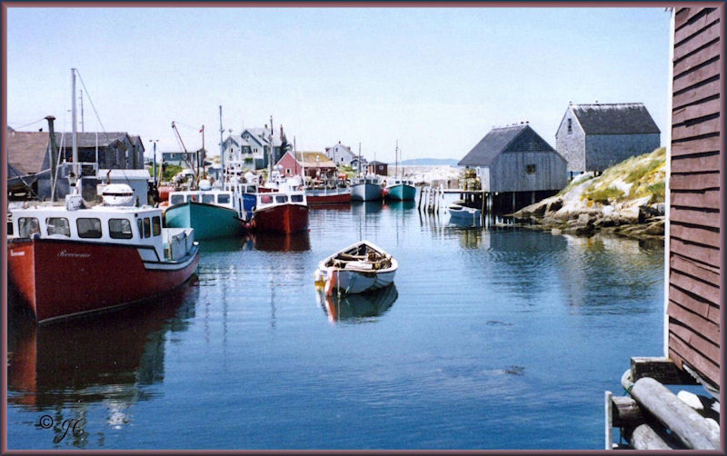 Nova Scotia's Peggy's Cove