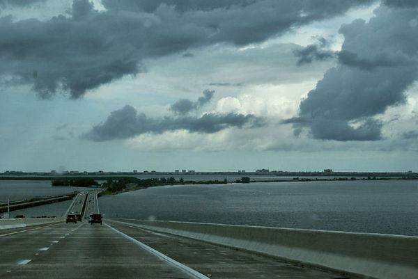 Entering So. St. Petersburg, FL