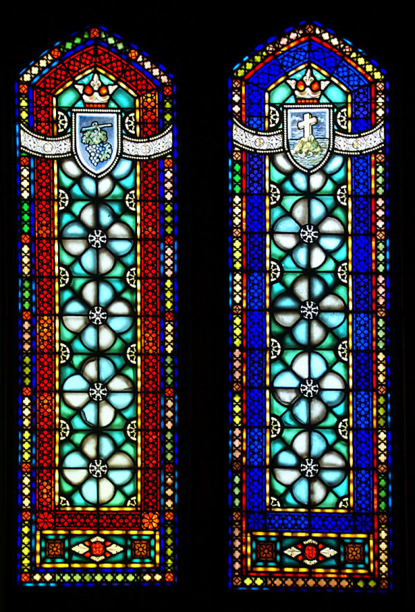 More stained glass...