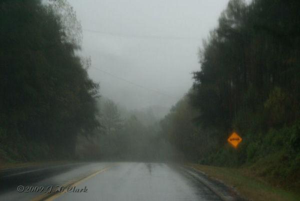 A rainy day in Georgia...