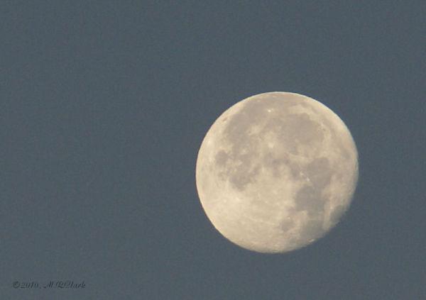 Blue Moon on Jan. 2, 2010