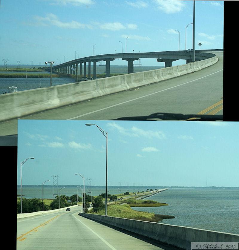 Causeway to St. George Island...