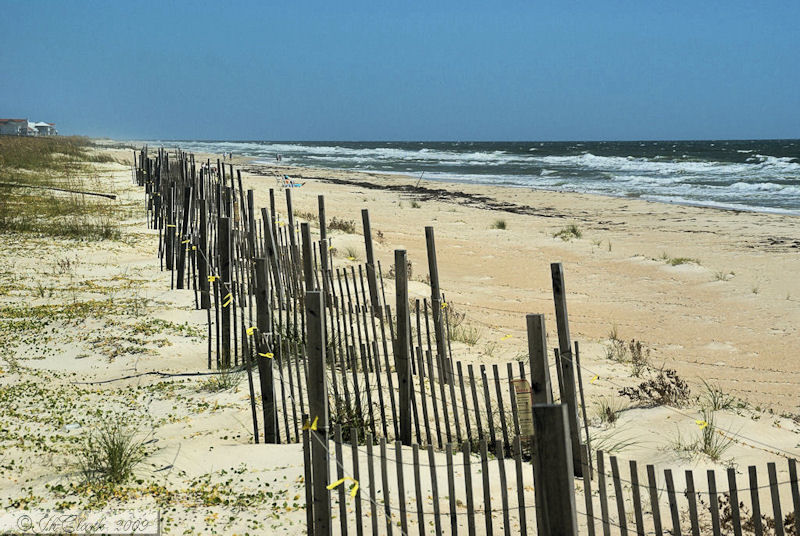 Inviting beach...