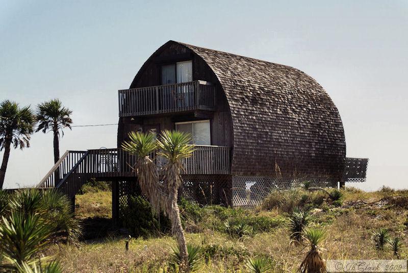 A barn on the beach?