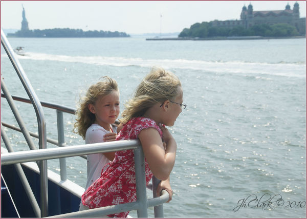 Two granddaughters...