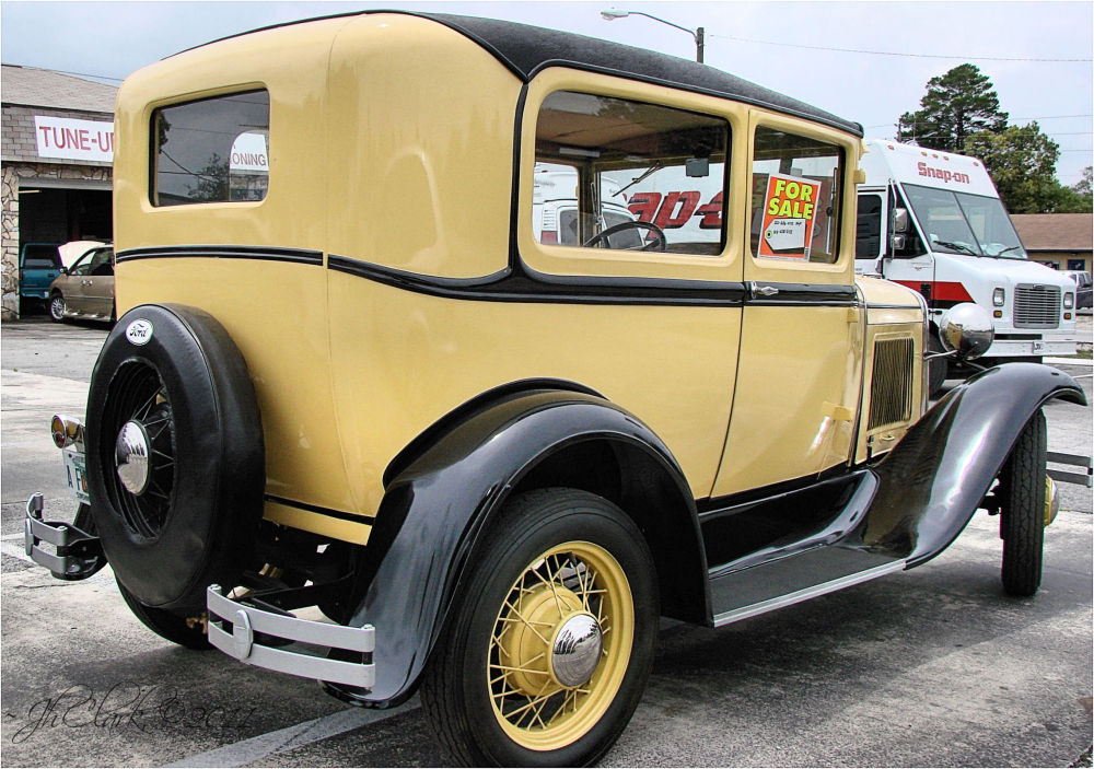 Golden Ford for sale...