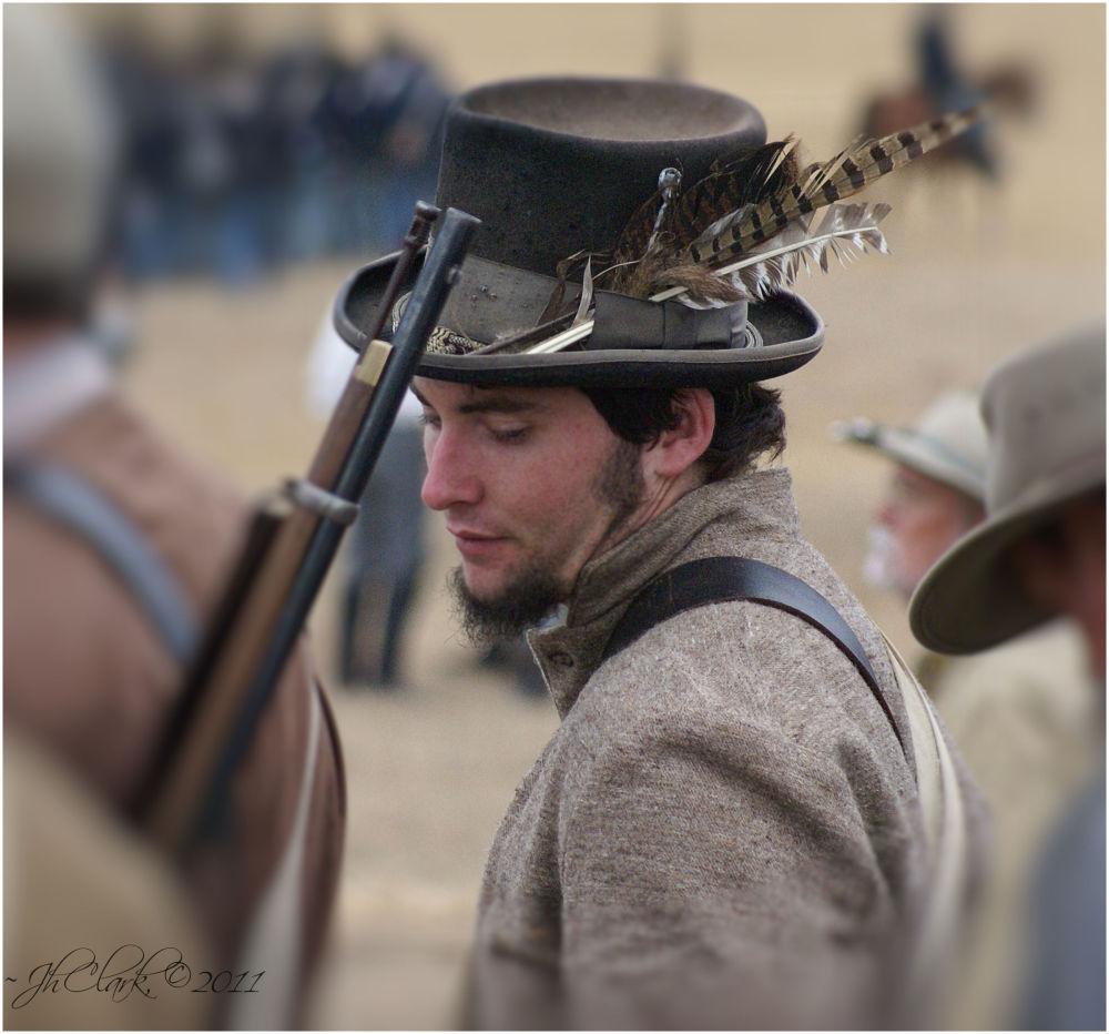 Confederate dude...