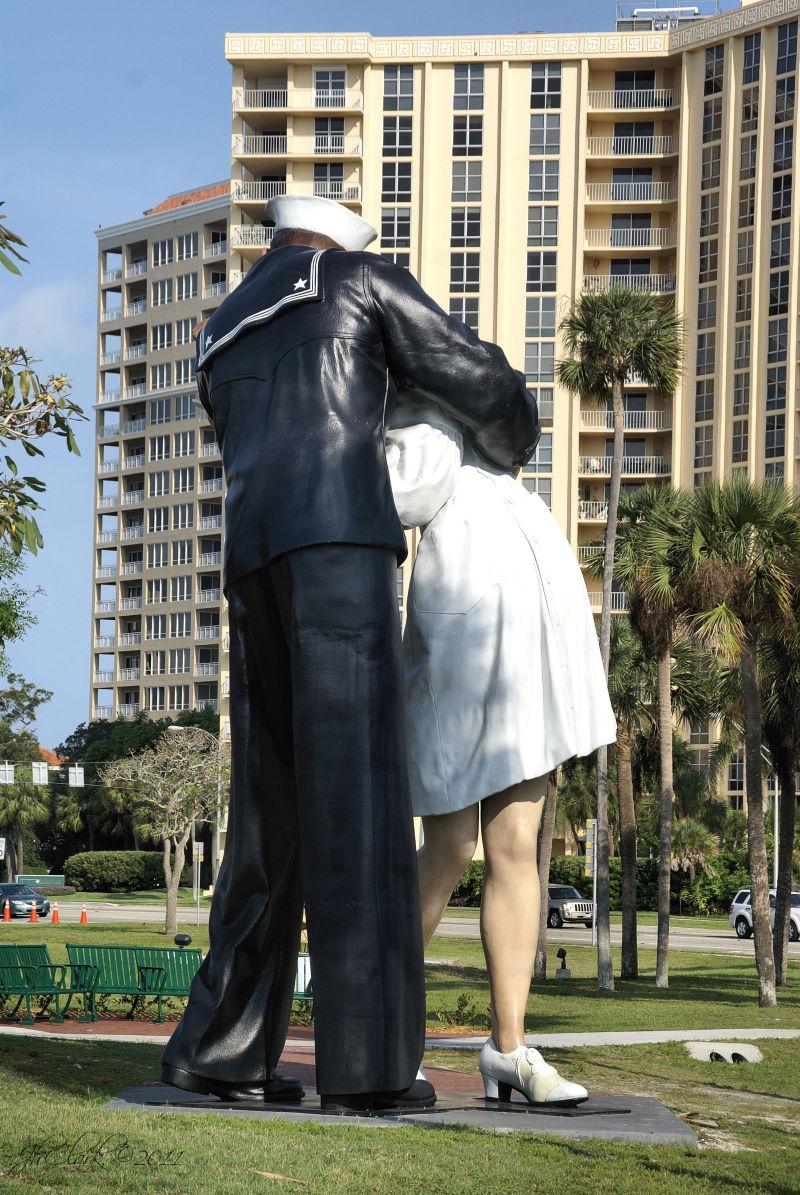 Unconditional Surrender sculpture...