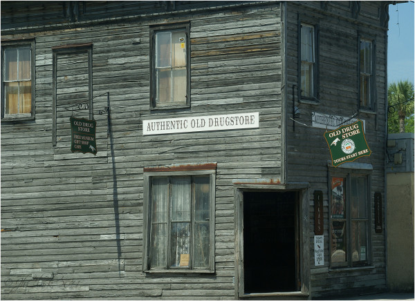 The old drugstore...