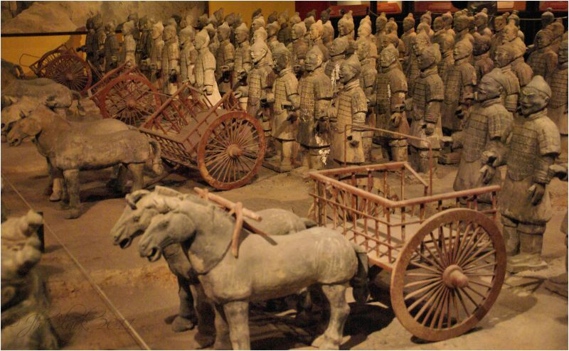 Horses & chariots...