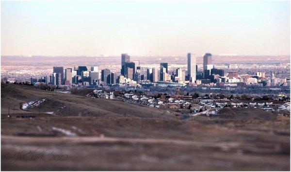 Denver, from Red Rocks...