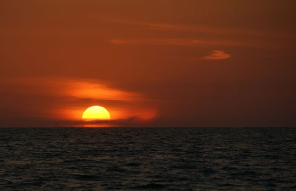 Sunset @ 8:00 pm...