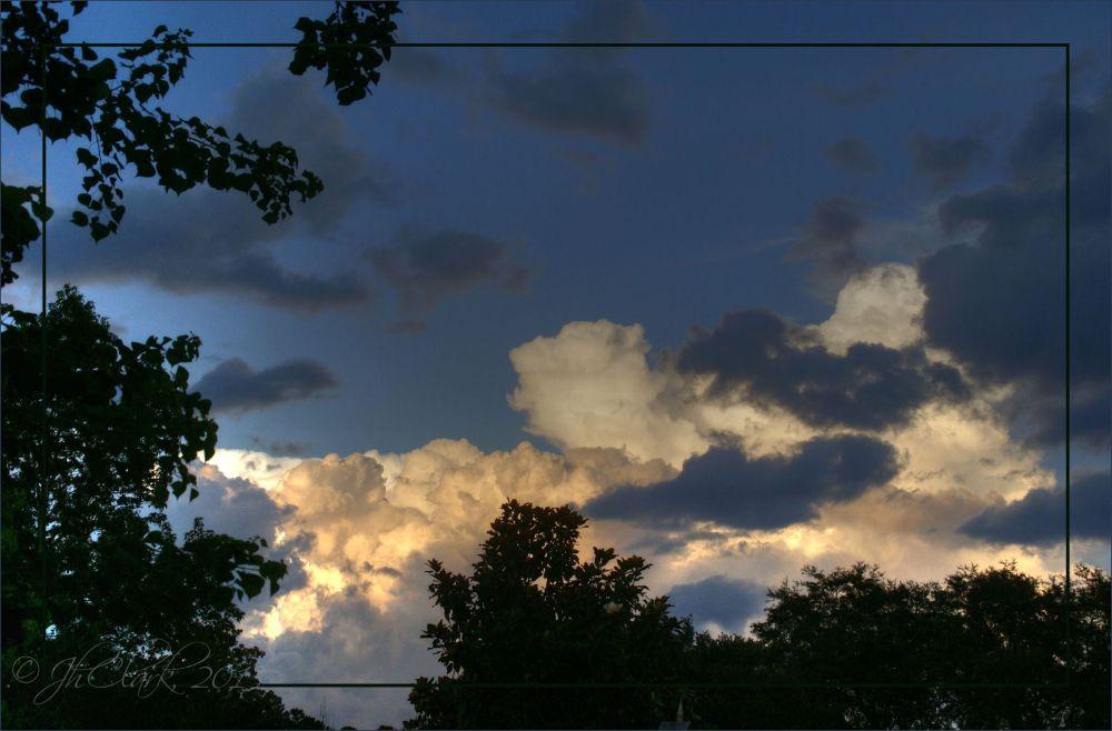 The eastern sky...