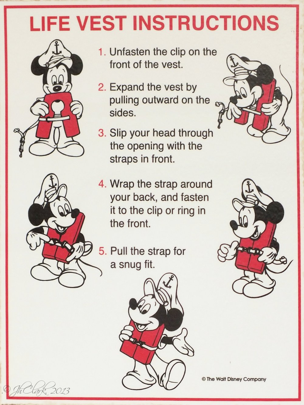 Not so silly Mickey...