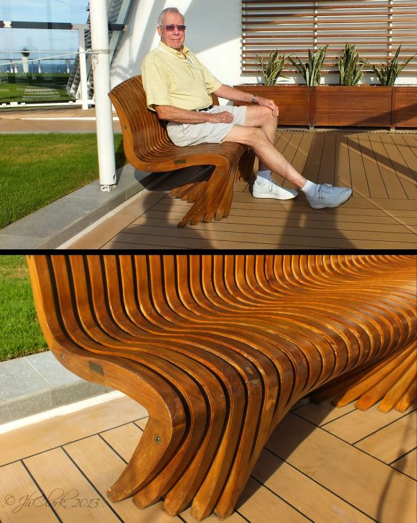 Incredible bench...