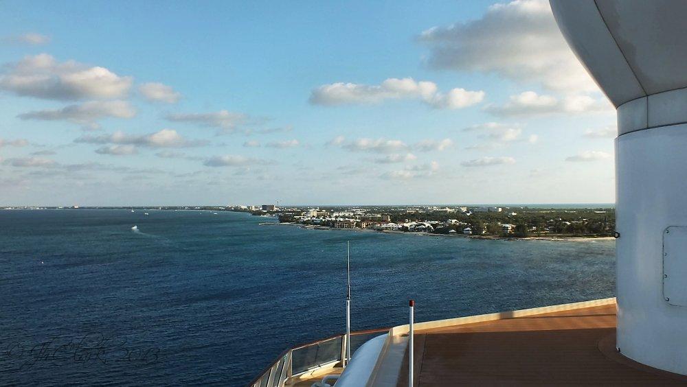 Anchored at Grand Cayman...