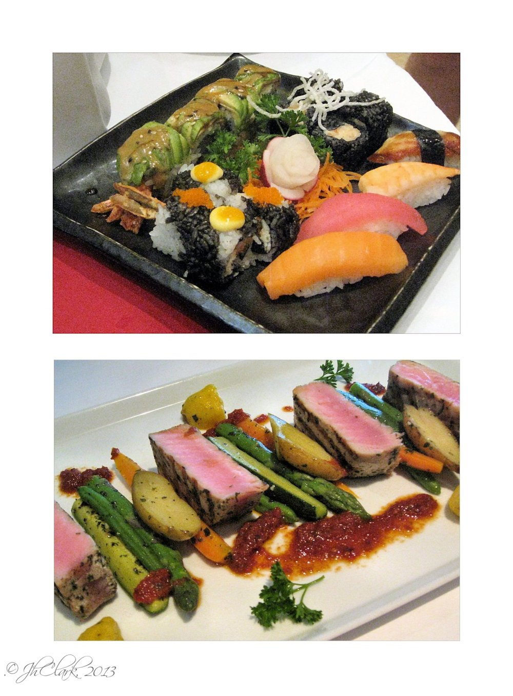 Sushi & Ahi Tuna...