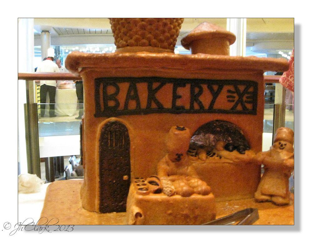 A baked shop...