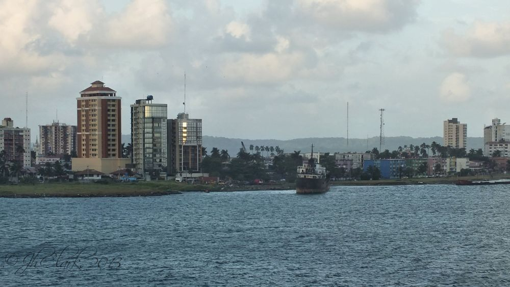 Entering Panama...