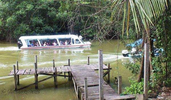 A boat ride...