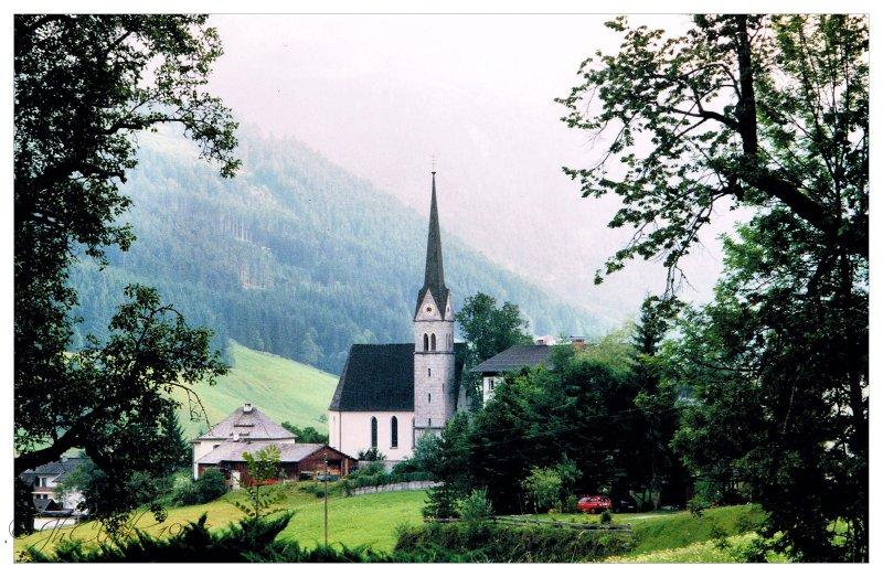 Iconic Austrian valley...