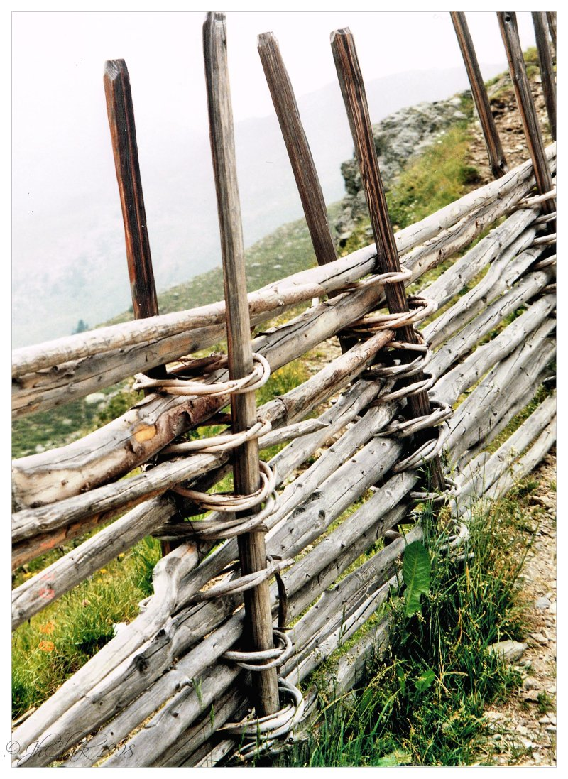 Charming fence...