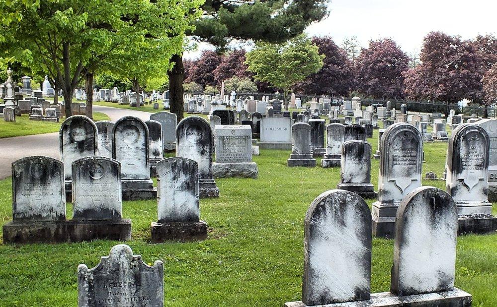 Evergreen Cemetery...