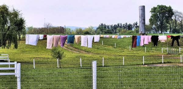 Amish laundry...