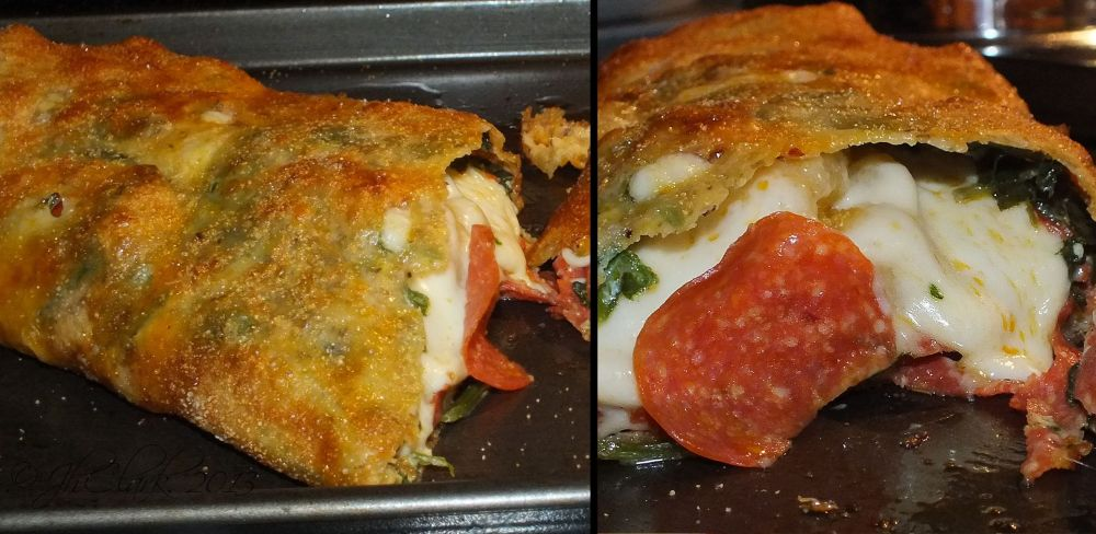 Pepperoni Stromboli...