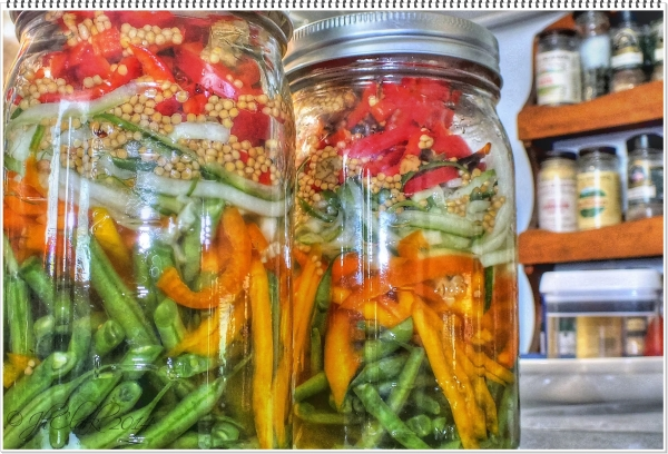 Pickled vegetables...