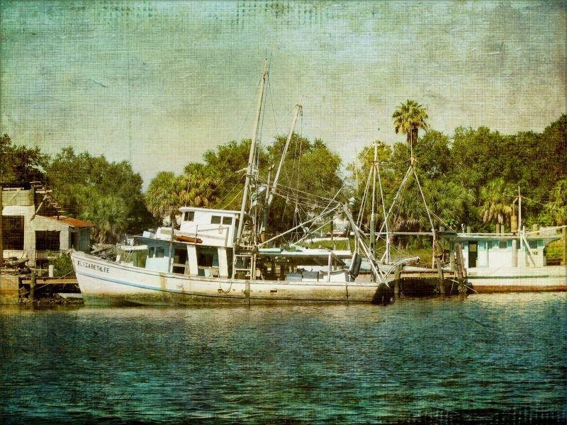 More shrimp boats...