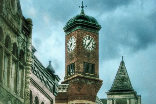 Clock tower, Staunton, VA