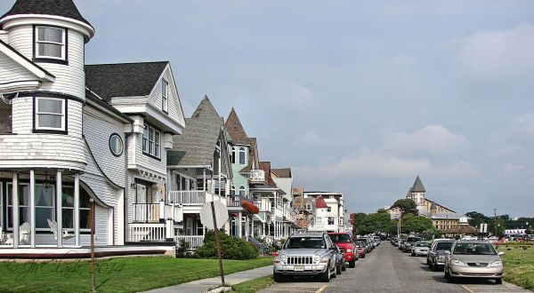 Looking north in Ocean Grove, NJ